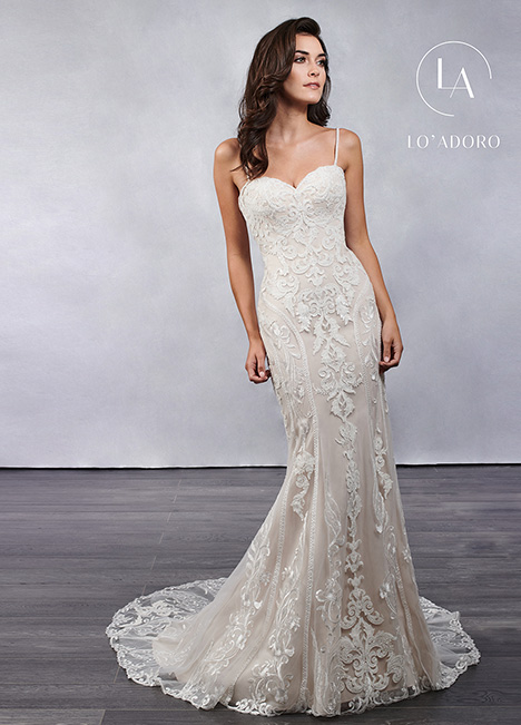M685 gown from the 2019 Lo' Adoro collection, as seen on Bride.Canada