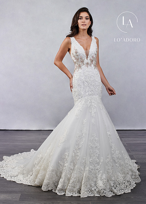 M687 gown from the 2019 Lo' Adoro collection, as seen on Bride.Canada