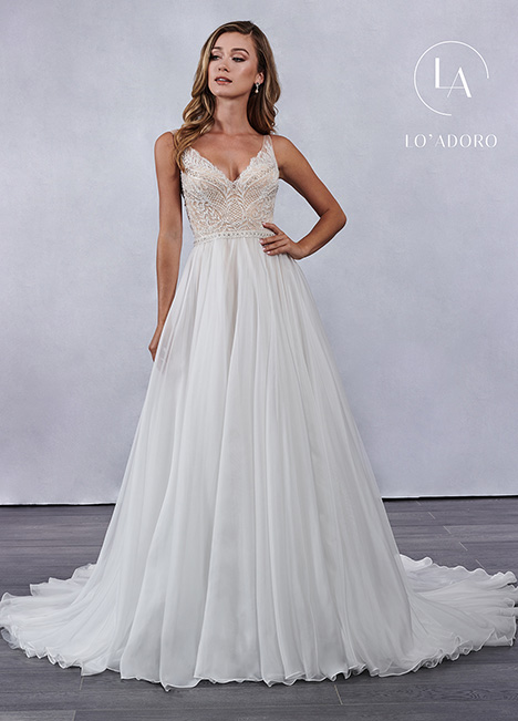 M692 gown from the 2019 Lo' Adoro collection, as seen on Bride.Canada