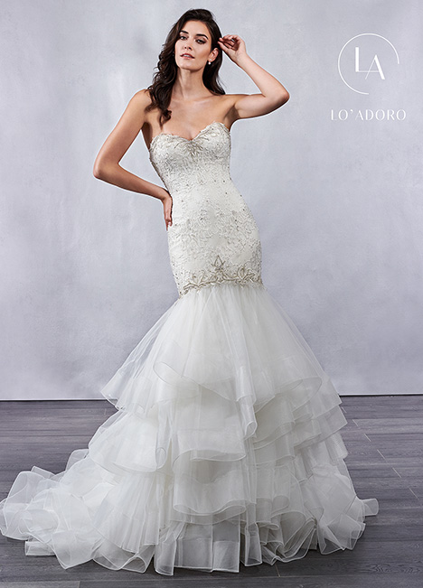 M695 gown from the 2019 Lo' Adoro collection, as seen on Bride.Canada