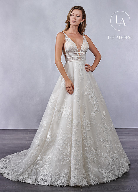 M698 gown from the 2019 Lo' Adoro collection, as seen on Bride.Canada