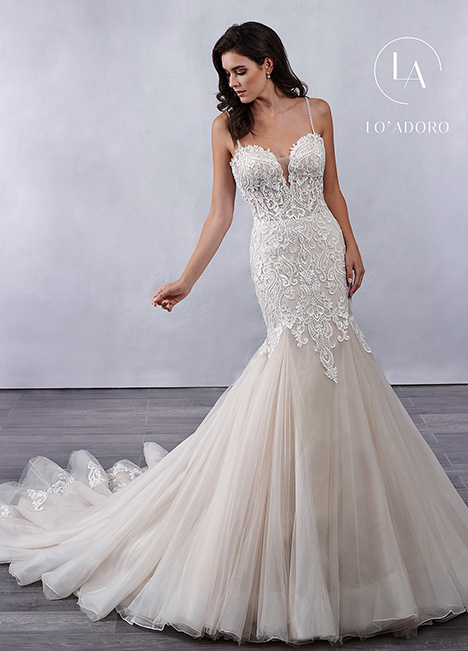 M699 gown from the 2019 Lo' Adoro collection, as seen on Bride.Canada