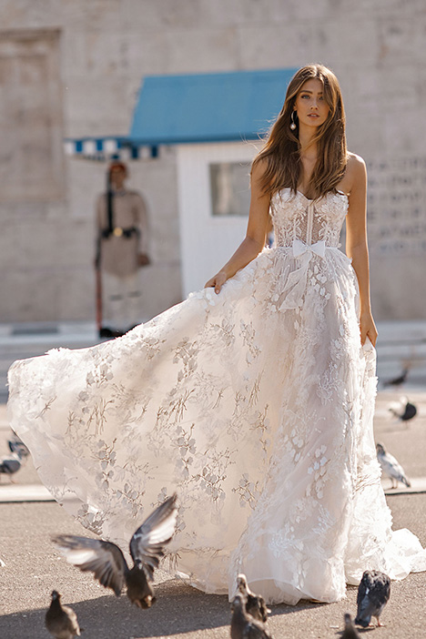 gown from the 2019 Berta Bridal collection, as seen on Bride.Canada