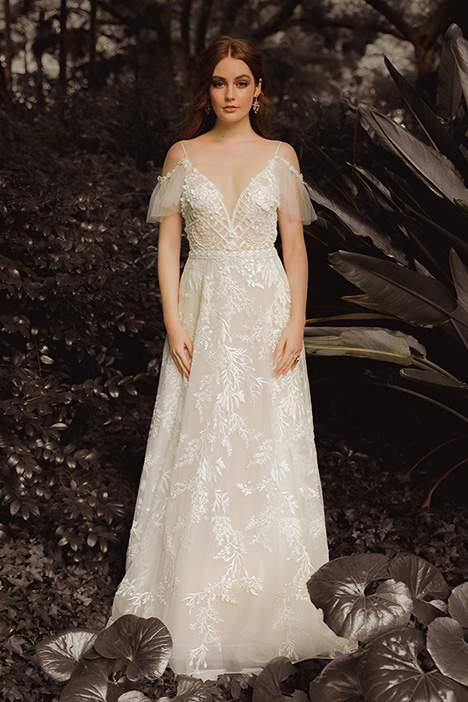 WS 299 gown from the 2019 Wedding Societe collection, as seen on Bride.Canada