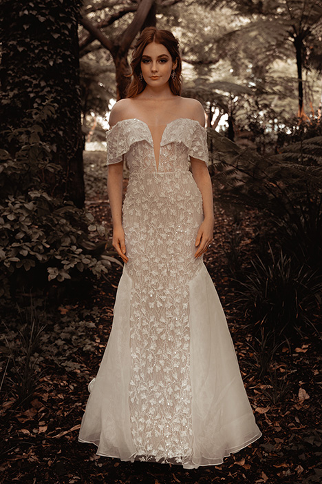 WS 307 gown from the 2019 Wedding Societe collection, as seen on Bride.Canada