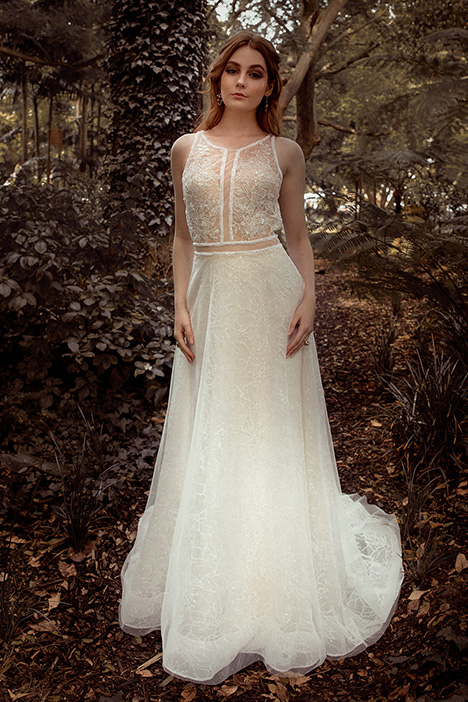 WS 6074 gown from the 2019 Wedding Societe collection, as seen on Bride.Canada
