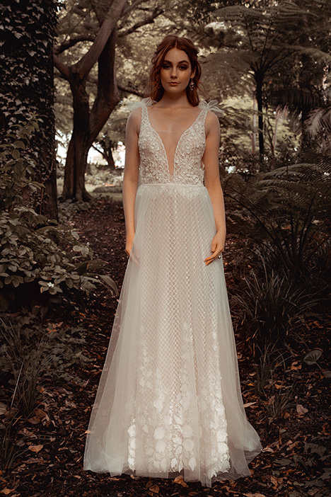 WS 6112 gown from the 2019 Wedding Societe collection, as seen on Bride.Canada