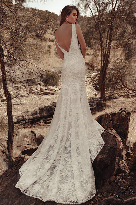 WA 256 Back gown from the 2019 White April collection, as seen on Bride.Canada