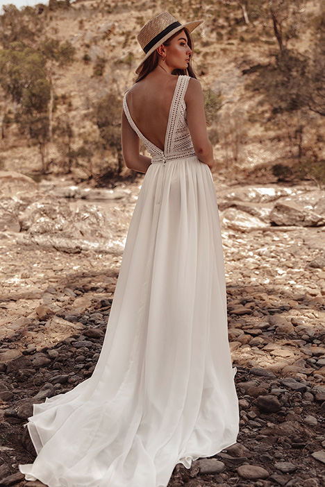 WA 279 Back gown from the 2019 White April collection, as seen on Bride.Canada