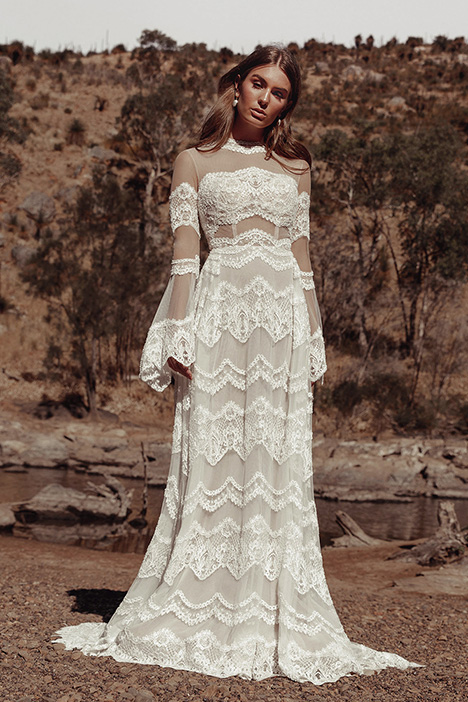 WA 285 gown from the 2019 White April collection, as seen on Bride.Canada
