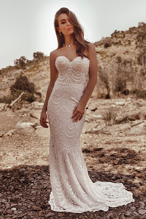 WA 9273 gown from the 2019 White April collection, as seen on Bride.Canada