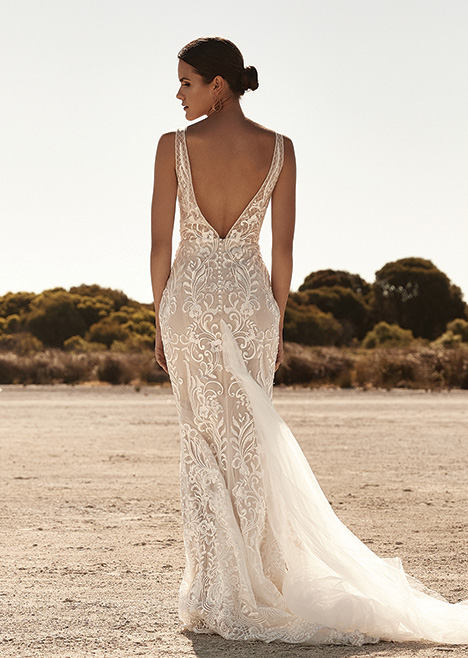 ZB 290 Back gown from the 2019 Zavana Bridal collection, as seen on Bride.Canada