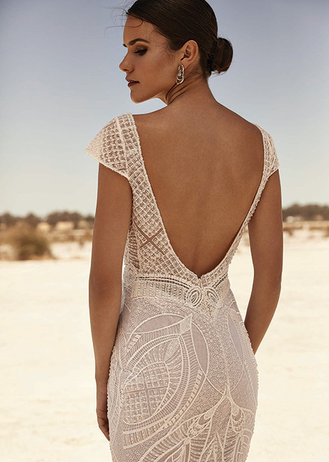 ZB 318 Detail gown from the 2019 Zavana Bridal collection, as seen on Bride.Canada