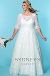 Sydney's Closet Bridal+ SC 5216 Front 2
