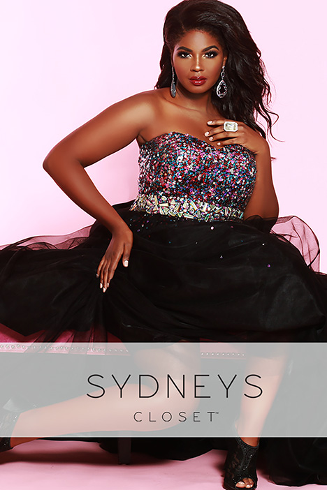 SC 7106 gown from the 2019 Sydney's Closet Prom+ collection, as seen on Bride.Canada