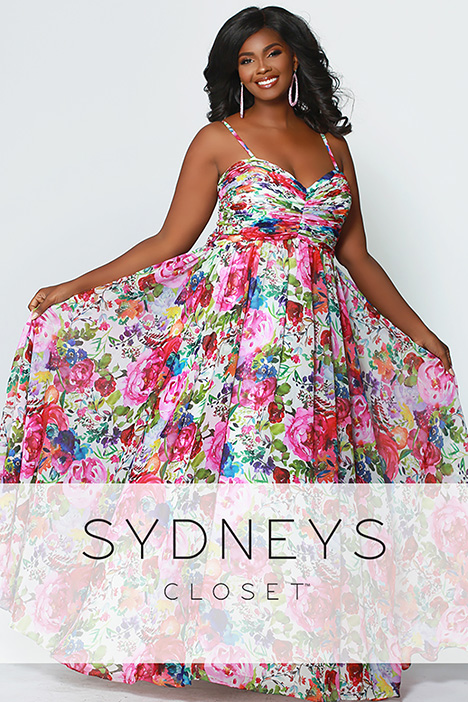 SC 7257 gown from the 2019 Sydney's Closet Prom+ collection, as seen on Bride.Canada