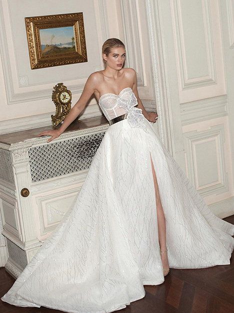 Magdalena gown from the 2019 Galia Lahav Couture collection, as seen on Bride.Canada