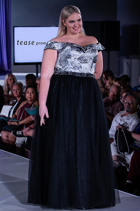 TE 1935 Runway gown from the 2019 Tease Prom+ collection, as seen on Bride.Canada