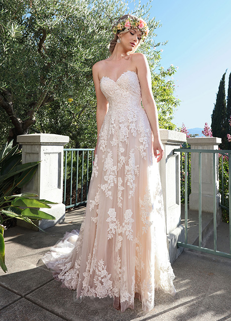 10709 gown from the 2019 Ashley & Justin Bride collection, as seen on Bride.Canada