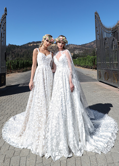 10725 gown from the 2019 Ashley & Justin Bride collection, as seen on Bride.Canada