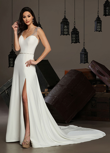 13166 gown from the 2019 Cristiano Lucci collection, as seen on Bride.Canada