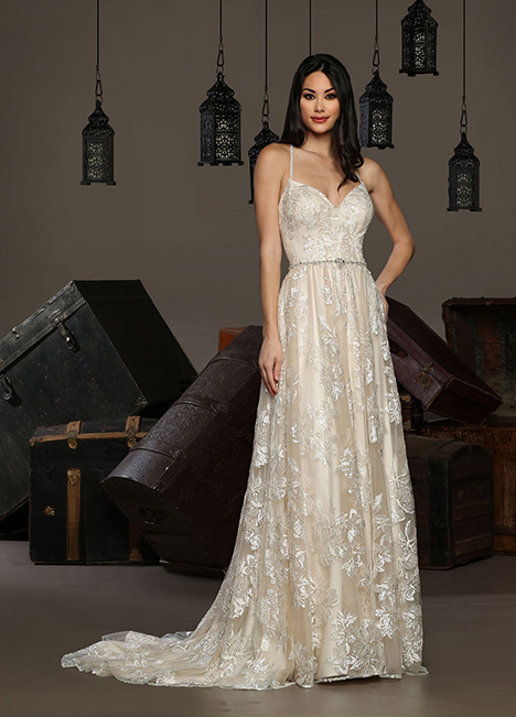 13172 gown from the 2019 Cristiano Lucci collection, as seen on Bride.Canada
