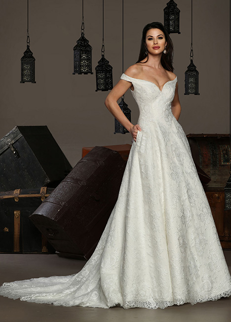 13189 gown from the 2019 Cristiano Lucci collection, as seen on Bride.Canada