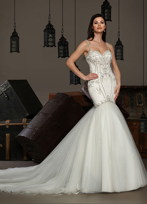 13191 gown from the 2019 Cristiano Lucci collection, as seen on Bride.Canada