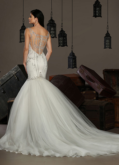 13191 Back gown from the 2019 Cristiano Lucci collection, as seen on Bride.Canada