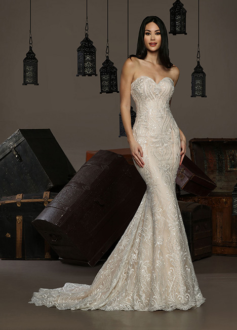13198  gown from the 2019 Cristiano Lucci collection, as seen on Bride.Canada