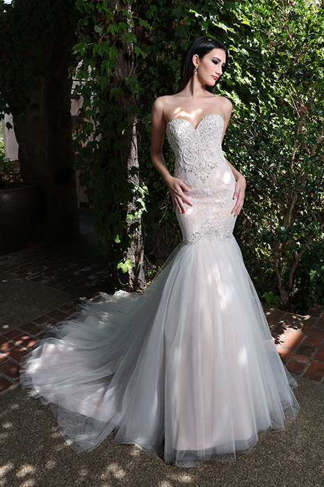 13217 gown from the 2019 Cristiano Lucci collection, as seen on Bride.Canada