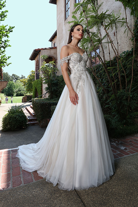 13221 gown from the 2019 Cristiano Lucci collection, as seen on Bride.Canada