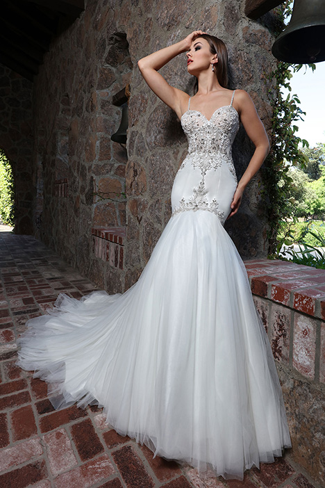 13222 gown from the 2019 Cristiano Lucci collection, as seen on Bride.Canada