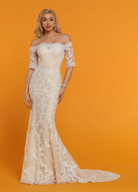 50529 gown from the 2019 DaVinci collection, as seen on Bride.Canada