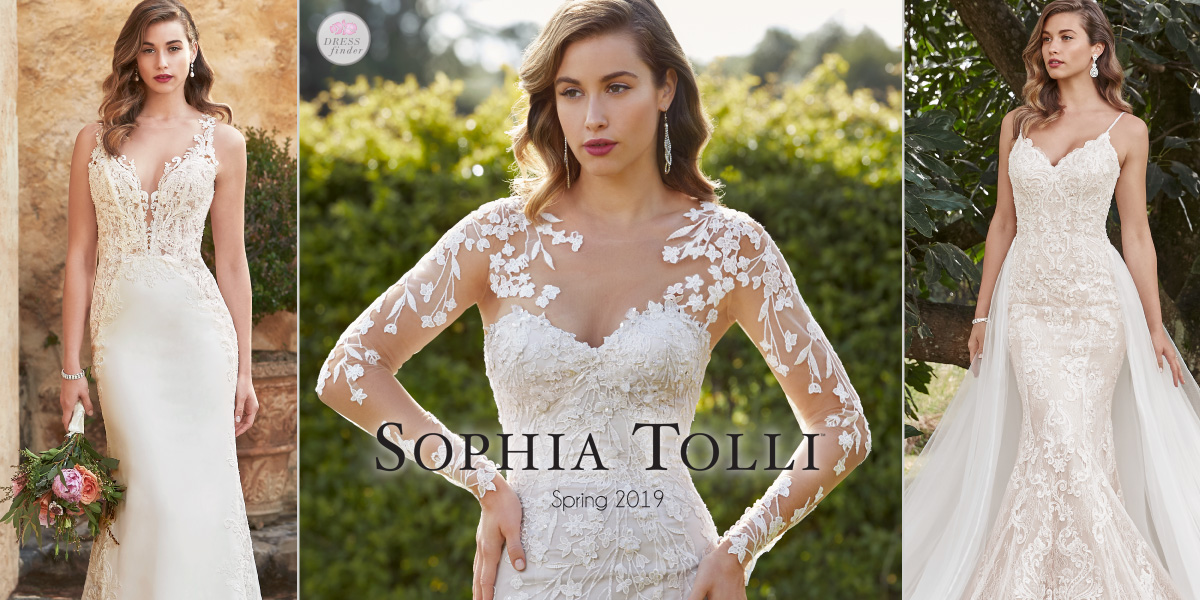 1d51b6ac69a Featured Bridal Collections. Sophia Tolli