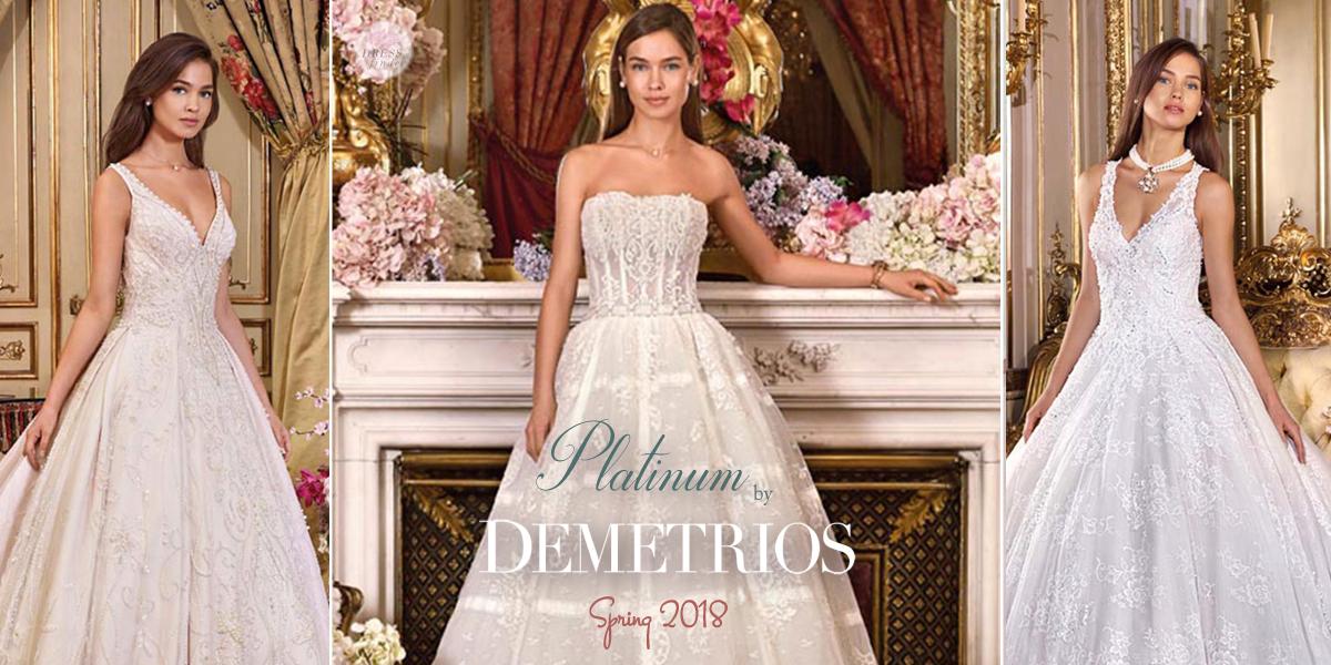 Platinum by Demetrios Wedding Dresses | DressFinder