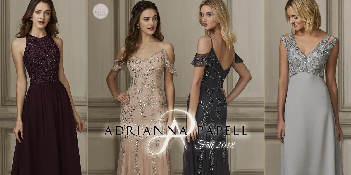 Adrianna Papell Platinum: Bridesmaids
