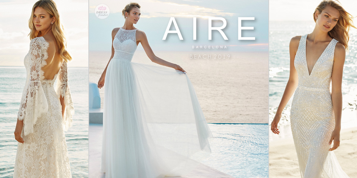 Aire Barcelona Beach Wedding