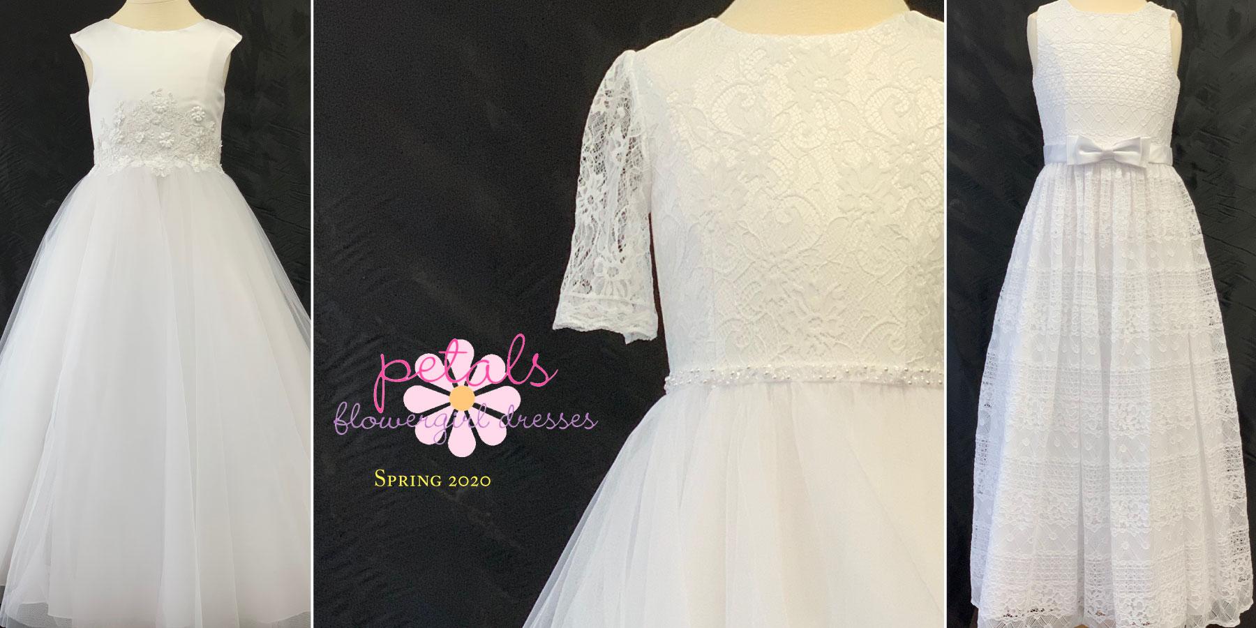 Petals Flowergirl Dresses