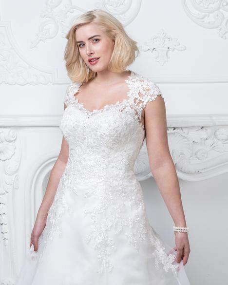 gown from the 2019 Romantic Bridals: Curvy Bride collection, as seen on the Dressfinder