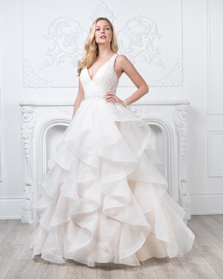 gown from the 2019 Romantic Bridals: Hearts Desire collection, as seen on the Dressfinder