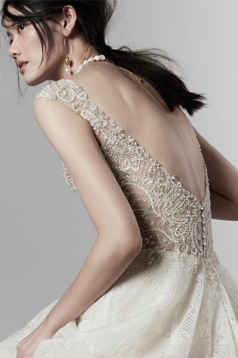 Owen gown from the 2019 Sottero and Midgley collection, as seen on the Dressfinder