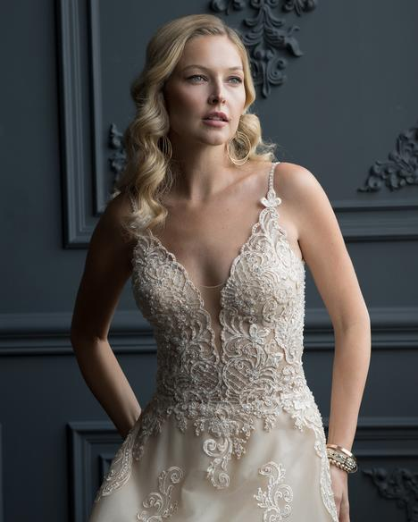gown from the 2020 Romantic Bridals collection, as seen on the Dressfinder