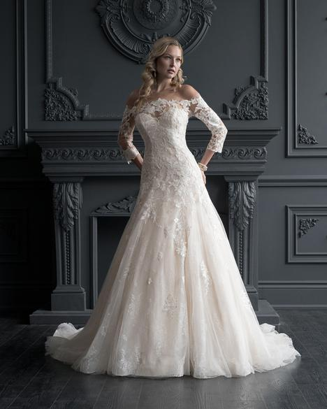 gown from the 2020 Romantic Bridals: Hearts Desire collection, as seen on the Dressfinder