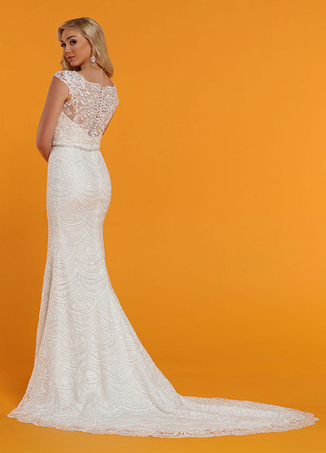 50540 Back Wedding                                          dress by DaVinci