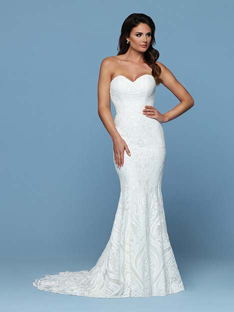 50543 Wedding                                          dress by DaVinci