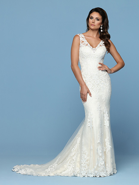 50549 Wedding                                          dress by DaVinci