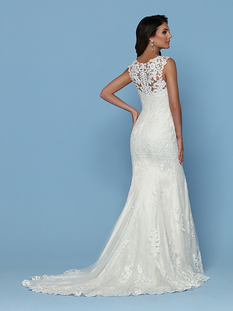 50549 Back Wedding                                          dress by DaVinci