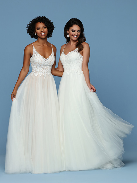 50552 Wedding                                          dress by DaVinci