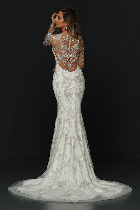 90375 Back Wedding                                          dress by Simone Carvalli